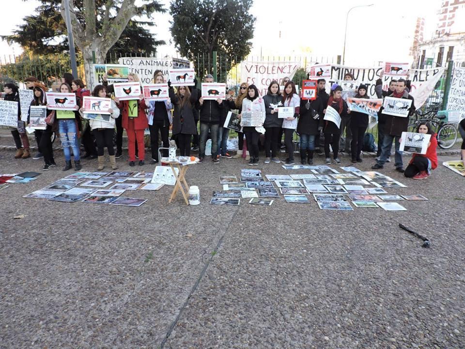 Photo de la Marche pour la fermeture des abattoirs 2016 à Buenos Aires