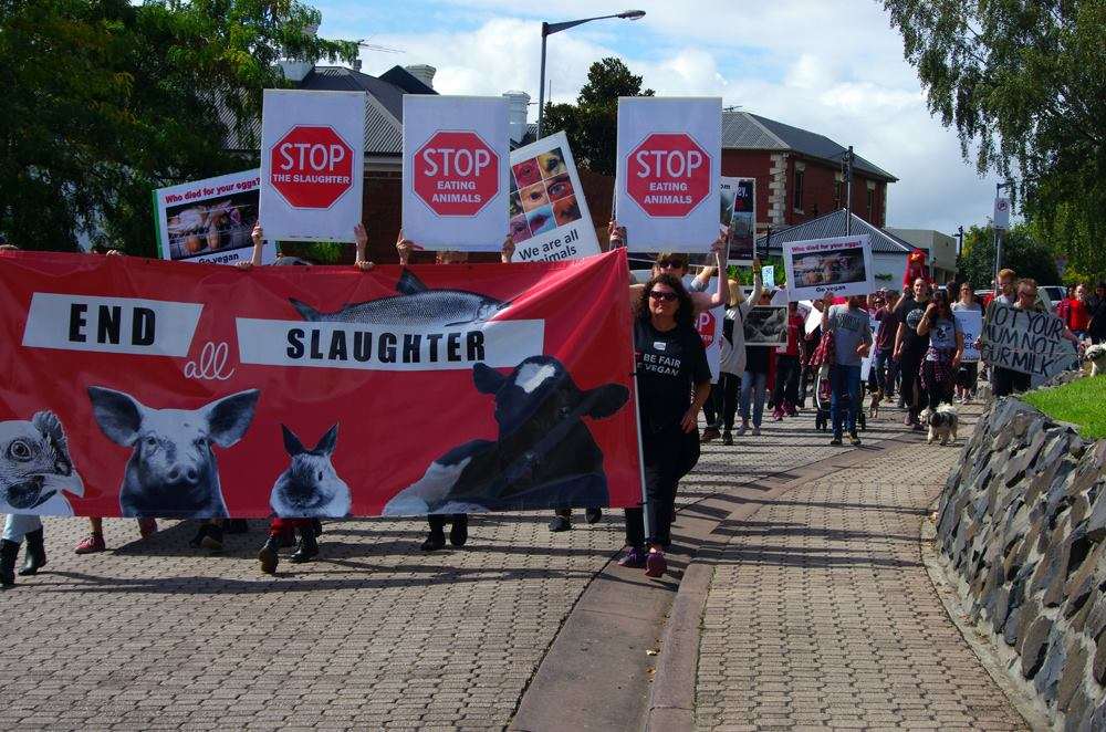 Hobart March To Close All Slaughterhouses 2017 picture